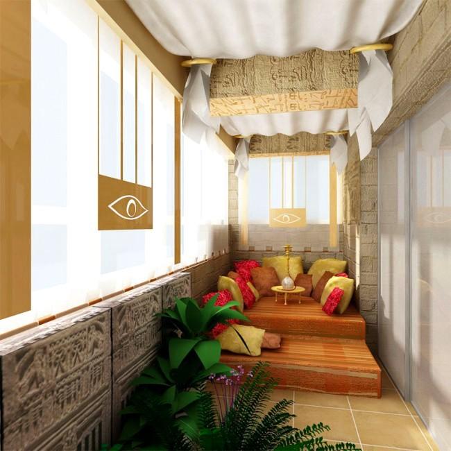 Расширяем жилплощадь за счет балкона: фотографии, советы.